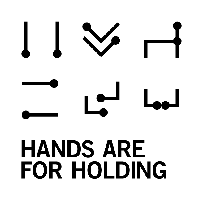 Hands are for Holding Logo