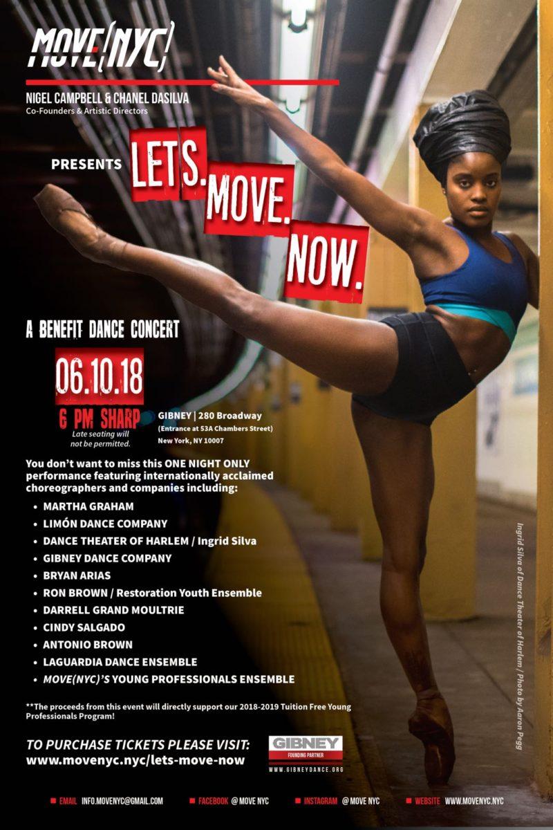 Lets. Move. Now. Benefit Concert