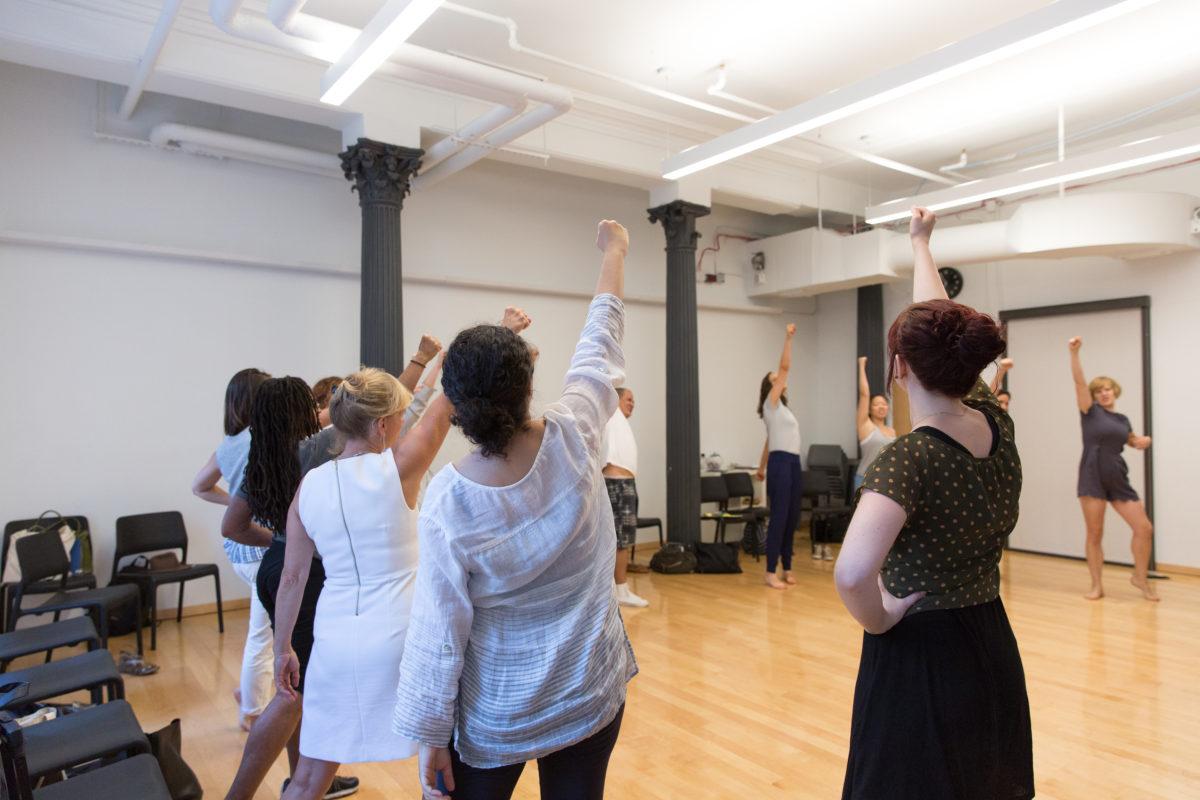 Long Table Dance in Feminism