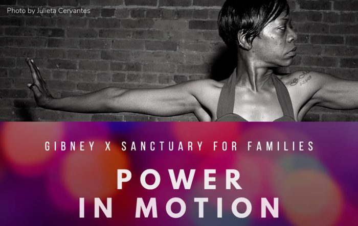 Power in Motion - Gibney & Sanctuary for Families
