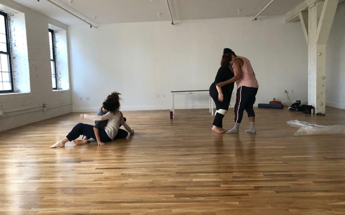 Kelly Bartnik Dancers in Rehearsal