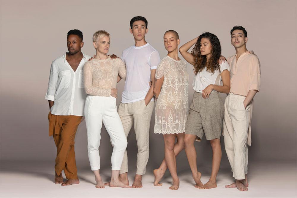 Group portrait of Gibney Dance Company Artistic Associates